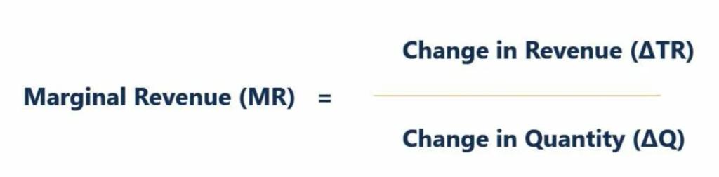 marginal revenue calculator