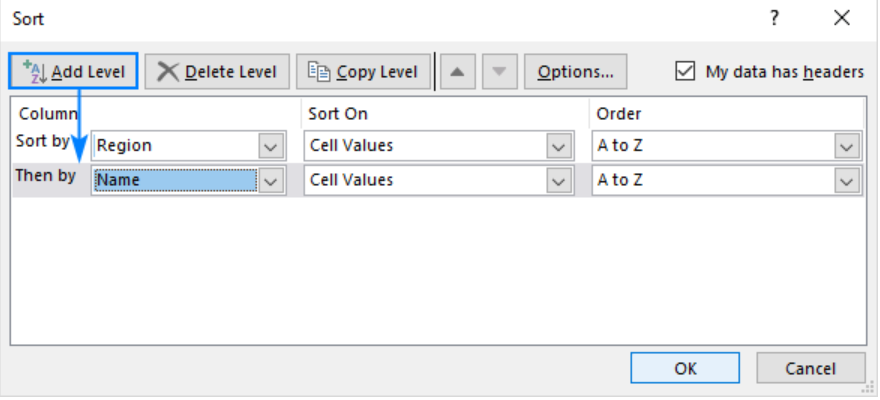 how to alphabetize tabs in excel