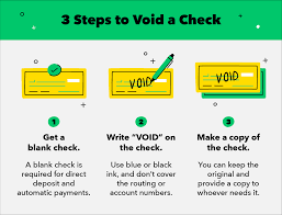 How To Send A Voided Check