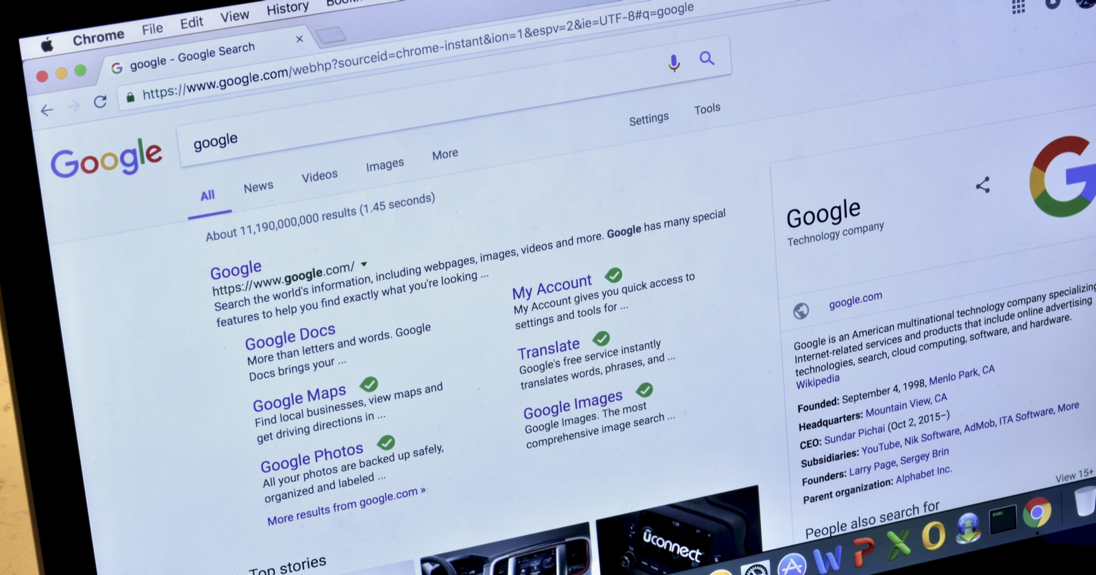 Google videos search API of All-SERP