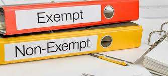exempt vs non exempt employee