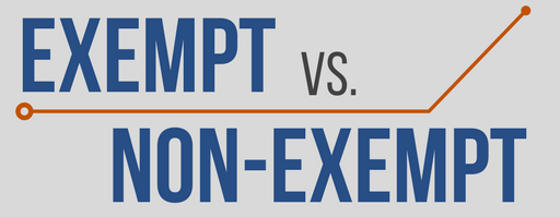 exempt vs non exempt